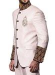 Delightful Cream 2 Pc Jodhpuri Suit