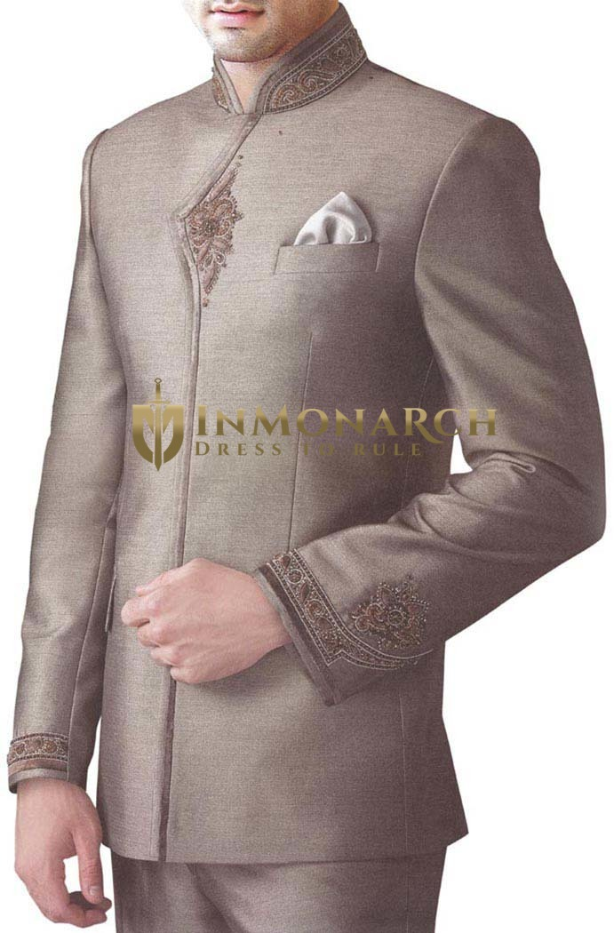 Royal Touch Copper 3 pc Jodhpuri Suit