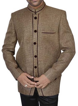 Imperial Olive drab Party 2 Pc Jodhpuri Suit
