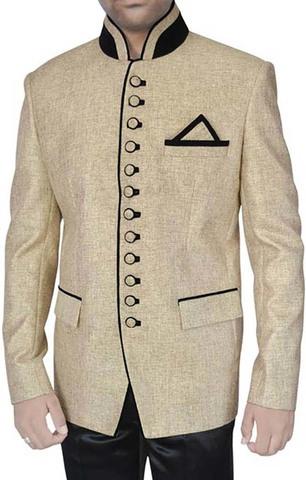 Occasional Beige 3 Pc Jodhpuri Suit