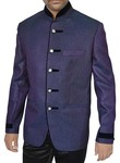 Unique Style Purple Jute 2 Pc Jodhpuri Suit