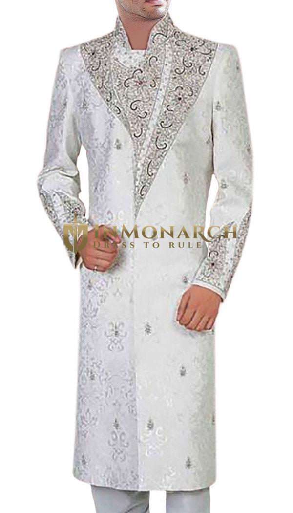 Perfect Prince White Sherwani