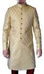 Attractive Beige Partywear Sherwani