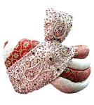 Wedding Cream-red Turban Pagari Safa Hat For Groom