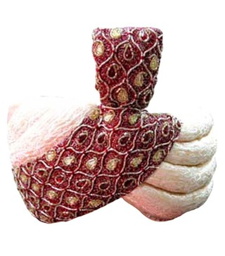 Wedding Cream-maroon Turban Pagari Safa Hat For Groom