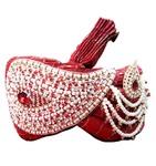 Wedding Red Turban Pagari Safa Hat For Groom