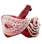 Wedding Red Turban Pagari Safa Hat For Groom