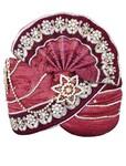 Wedding Turban Red Pagari Safa Groom Hats
