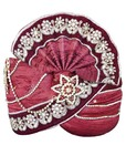 Wedding Turban Red Pagari Safa Groom Hats