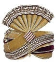 Buy Grooms Turbans Online Brown Pagari Safa Groom Hats