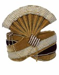 Trendy Look Moti Work Turban Maroon-Brown Pagari Safa Groom Hats