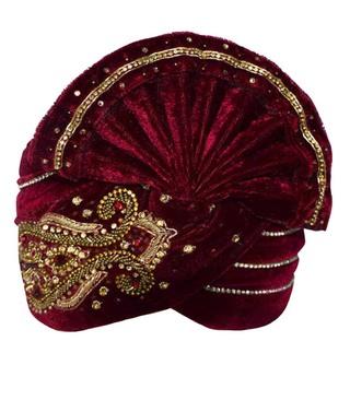 Wonderful Embroidered Turban  Pagari Safa Groom Hats