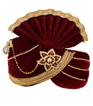 Significance Red Groom Turban Pagari Safa Groom Hats