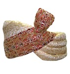 Wedding Turban Cream Pagari Safa Hat For Groom