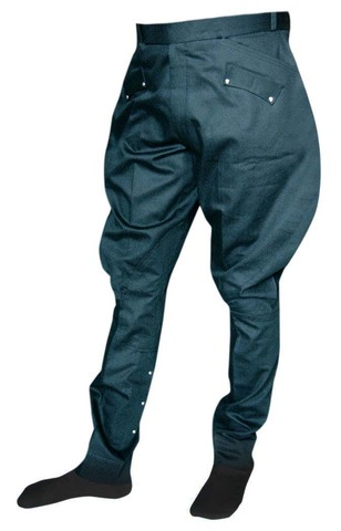 Mens and Womens Teal Baggy Breeches Designer