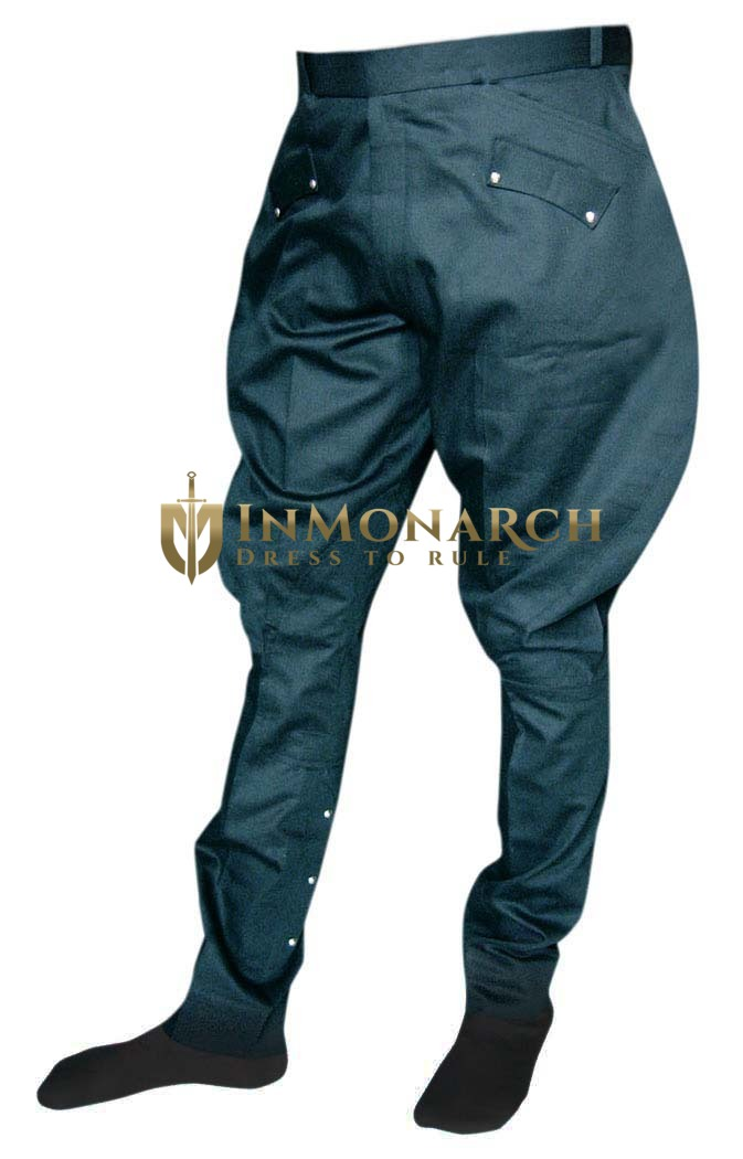 Mens and Womens Designer Black Baggy Breeches
