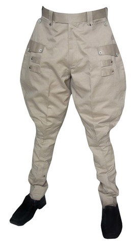 Flair-hip designer almond horseback riding breeches