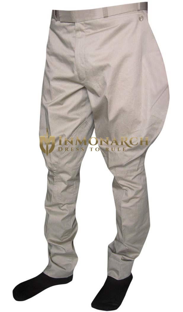 Mens and Womens Back Pockets Baggy Breeches