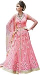Rich Look Pink Party Wear Lehenga Suit