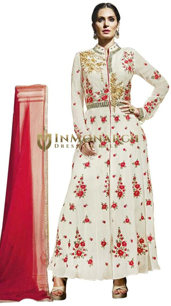 Awesome Georgette Anarkali Salwar Kameez