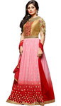 Designer Pink Anarkali Salwar Suits
