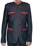 Nehru Military Blazer Style Black Nehru Jacket