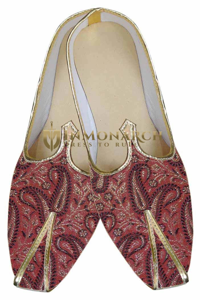 Mens Indian Bridal Shoes Red Designer Shoe Indian Wedding Shoes