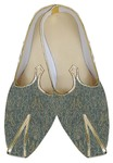 Indian Wedding Shoes For Men Sea Green Traditional Wedding Shoe