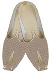 Indian Mens Shoes Beige Wedding Mens Juti Shoe Checks Design