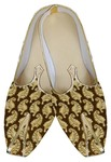 Mens Indian Bridal Shoes Golden Wedding Juti Floral Indian Wedding Shoes