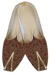 Indian Mens Shoes Maroon Wedding Shoes Fashionable Groom Juti