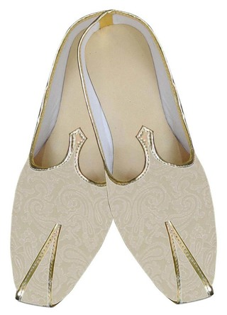 Mens Ivory Wedding Shoes Partywear