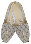 Mens Cream Classic Wedding Shoes