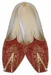Mens Red Traditional Wedding Shoes