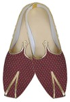 Mens Juti Maroon Indian Designer Shoes Sherwani Shoes