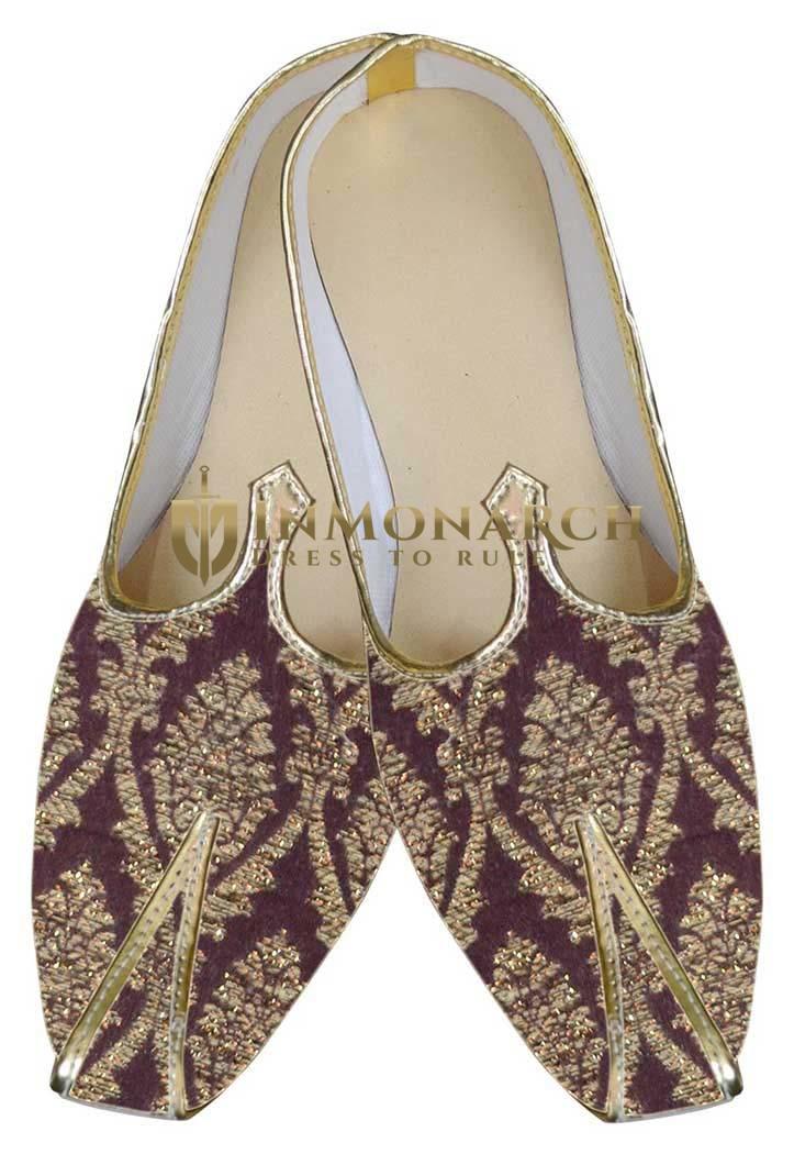 Mens Brown Designer Impressive Shoes