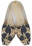 TraditionalShoes For Men Black Wedding Shoes Golden Design