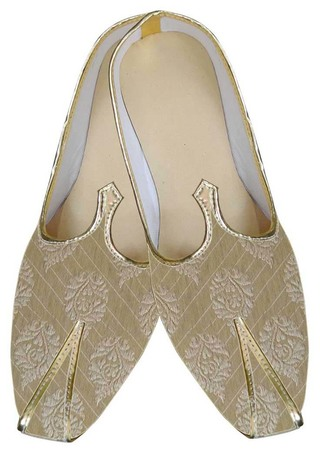 Traditional Shoes For Men Golden Wedding Shoes Ethnic Indian Shoes