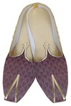 Indian WeddingShoes For Men Magenta Traditional Wedding Shoes