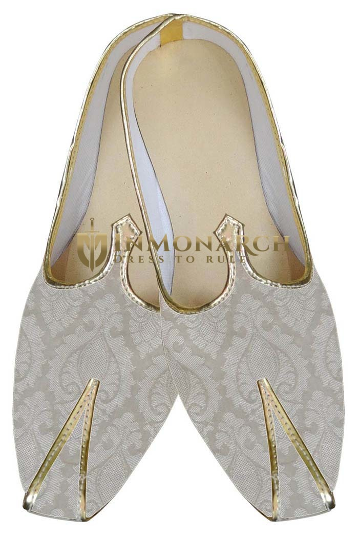 Wedding Shoe For Groom Ivory Designer Shoes Indian Bridal Shoes