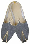 Mens Gray Indian Wedding Shoes