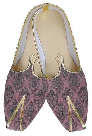 Mens Pink Groom Wedding Shoes