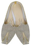 Mens Beige Designer Wedding Shoes
