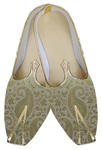 Mens Golden Designer Groom Shoes
