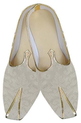 Mens Juti Cream Gorgeous Wedding Shoes Sherwani Shoes