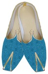Mens Blue Indian Wedding Shoes