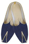 Mens Navy Blue Contemporary Wedding Shoes