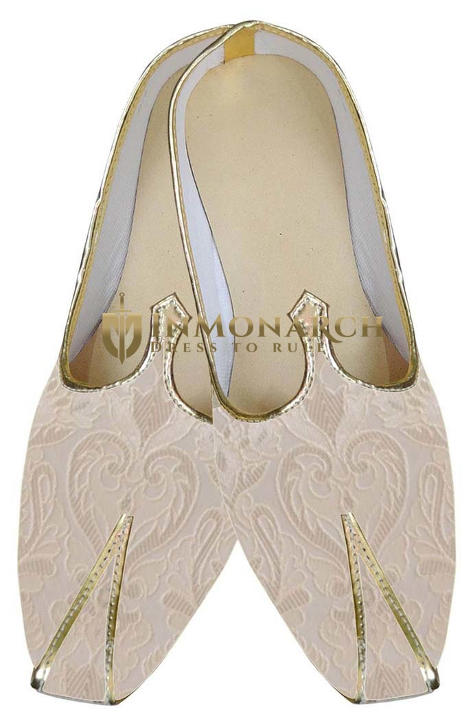 Indian Wedding Shoes For Men Ivory Indian Wedding Stylish Shoes