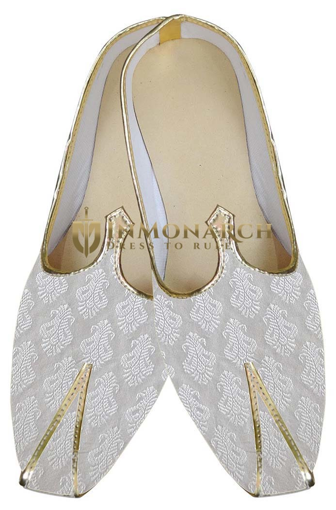 Juti For Men White Indian Wedding Shoes Wedding Juti For Groom