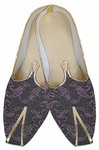 Mens Brown Indian Wedding Shoes Paisley Pattern
